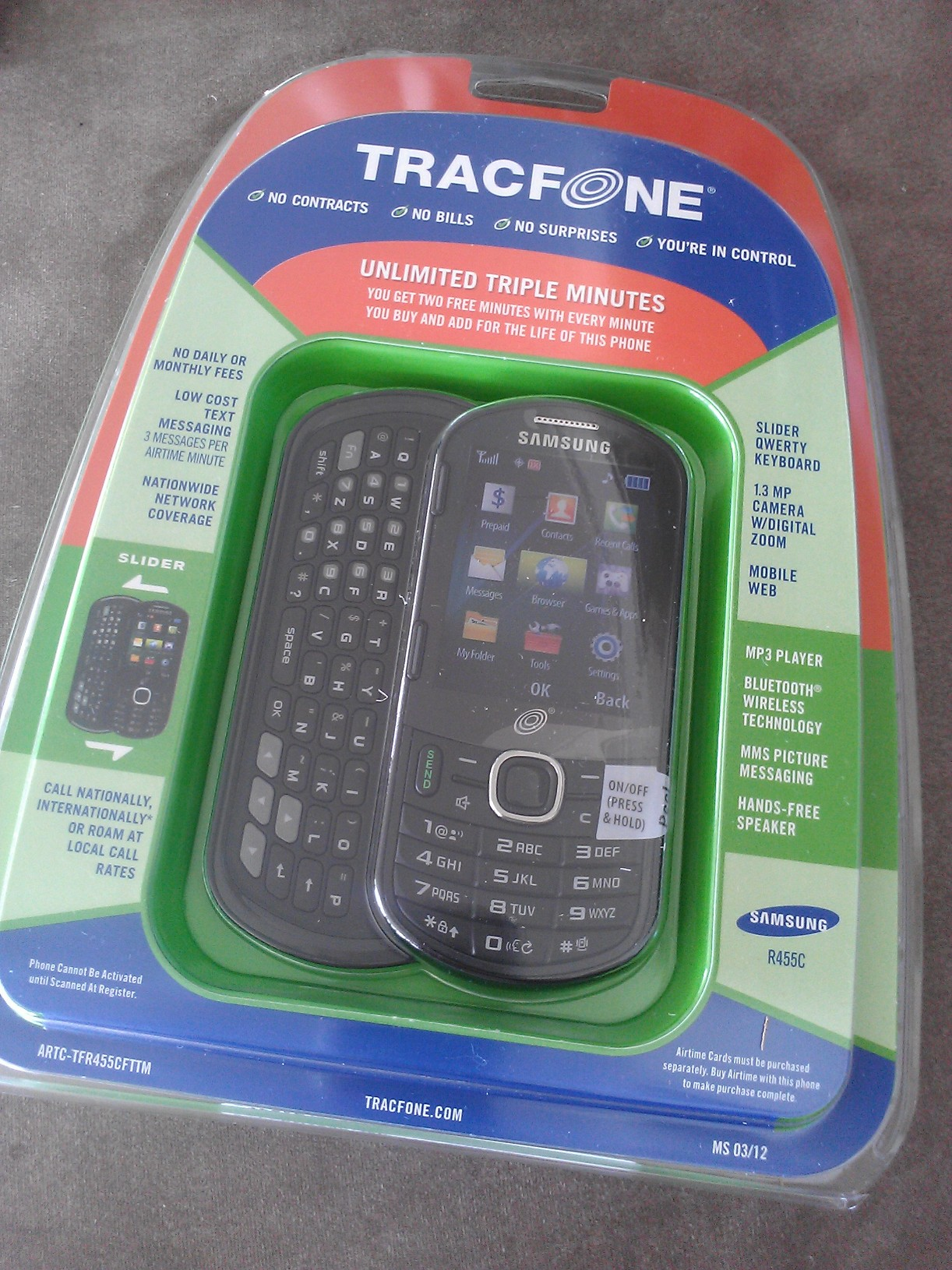 Brief Review: Samsung R455C On Tracfone