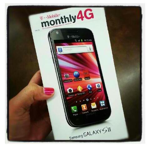 Samsung Galaxy SII On TMobile Prepaid At WALMART Pretty Missile